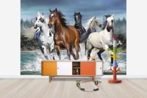 barntapet hästar