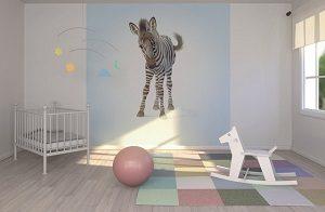 tapet zebra