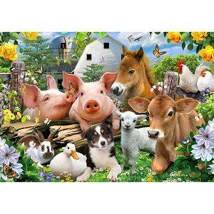 gullig djur fondtapet till barnrummet