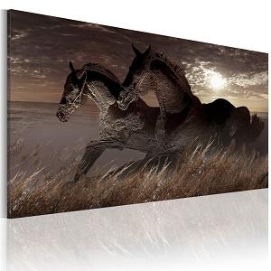 hästtavla canvas